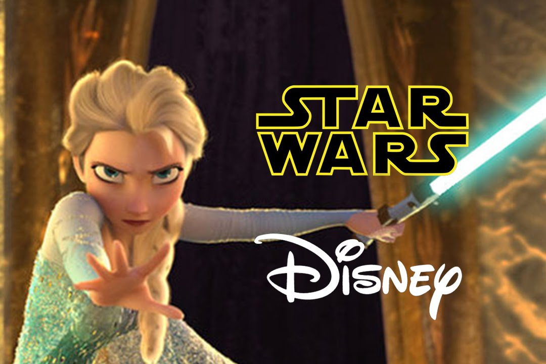 Star Wars Parodia Disney Frozen
