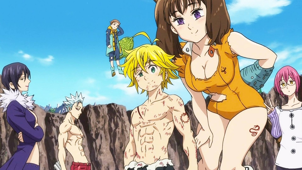 The Seven Deadly Sins Seconda Stagione su Netflix